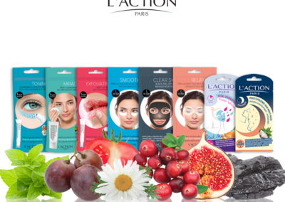 masque visage l'action