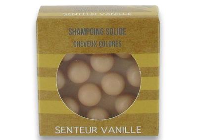 Cheveux colorés - Senteur Vanille