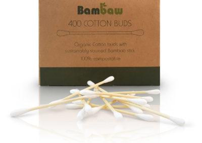 cotons tiges en bambou